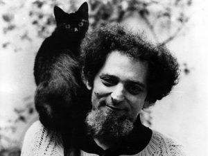 Georges Pérec et son chat